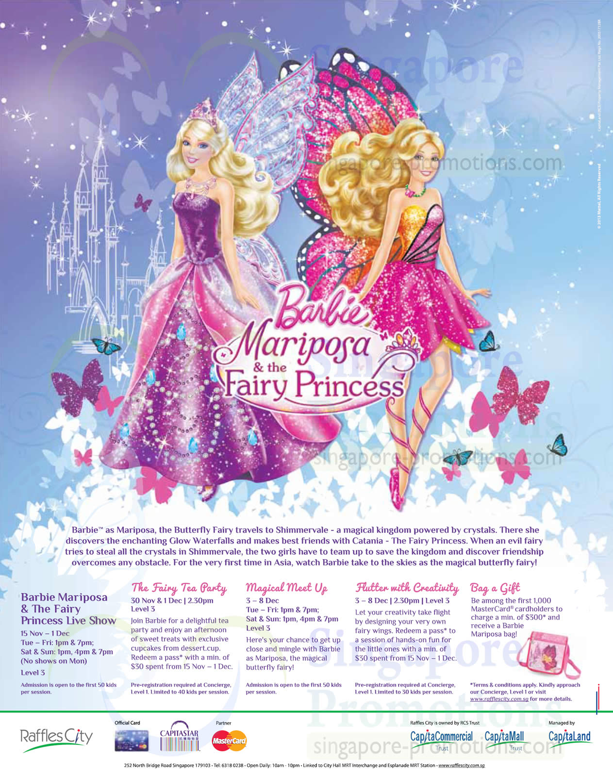 Barbie Activities, Promotions, Shows