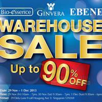 Read more about Ebene, Bio-Essence & Ginvera Warehouse SALE Up To 90% OFF 29 Nov - 1 Dec 2013