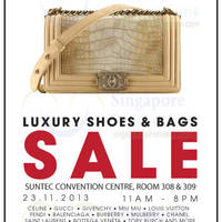 Read more about Brandsfever Handbags & Footwear Sale Up To 80% Off @ Suntec Convention Centre 23 Nov 2013