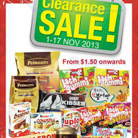 Read more about Choco Express Clearance SALE @ All Outlets 1 - 17 Nov 2013