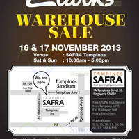 Read more about Clarks Warehouse SALE Up To 70% OFF @ Safra Tampines 16 - 17 Nov 2013