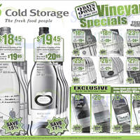 Read more about Cold Storage Wines 3 Day Special Offers 22 - 24 Nov 2013