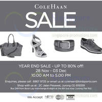 Read more about Cole Haan Up To 80% OFF Year End SALE 28 Nov - 3 Dec 2013