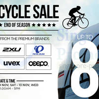 Read more about Key Power International Up To 80% OFF Cycle SALE @ Lion Building C 9 - 13 Nov 2013