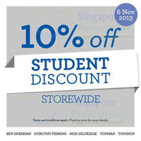 Read more about F3 10% OFF Storewide Student Discount Promo 6 Nov 2013