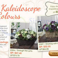Read more about Far East Flora 50% Off The Kaleidoscope of Colours Blooms Offers 15 Nov 2013