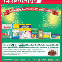Read more about NTUC Fairprice Electronics, Appliances, Groceries & Personal Care Offers 14 - 28 Nov 2013