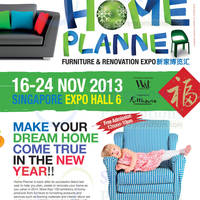 Read more about Home Planner 2014 Furnishing Fair @ Singapore Expo 16 - 24 Nov 2013