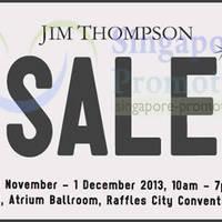 Read more about Jim Thompson SALE @ Raffles City Convention Centre 30 Nov - 1 Dec 2013