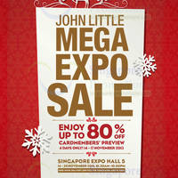 Read more about John Little Mega Expo SALE @ Singapore Expo 14 - 24 Nov 2013