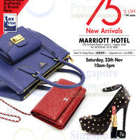 Read more about LovethatBag Branded Handbags Sale Up To 75% Off @ Marriott Hotel 23 Nov 2013