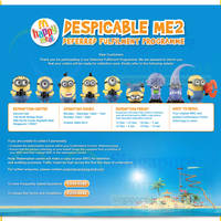 Read more about McDonald's Despicable Me 2 Figurines Available For Collection Soon 15 Nov 2013