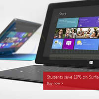Read more about Microsoft Surface RT 10% OFF Student Promo Offer 26 Nov 2013