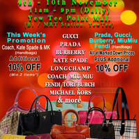 Read more about MyBagEmpire Branded Handbags & Accessories Sale @ Yew Tee Point 4 - 10 Nov 2013