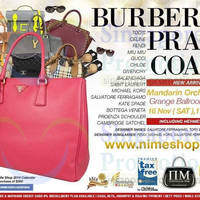 Read more about Nimeshop Branded Handbags Sale Up To 70% Off @ Mandarin Orchard Hotel 16 Nov 2013