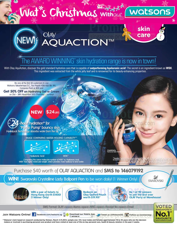 Olay Aquaction Skincare
