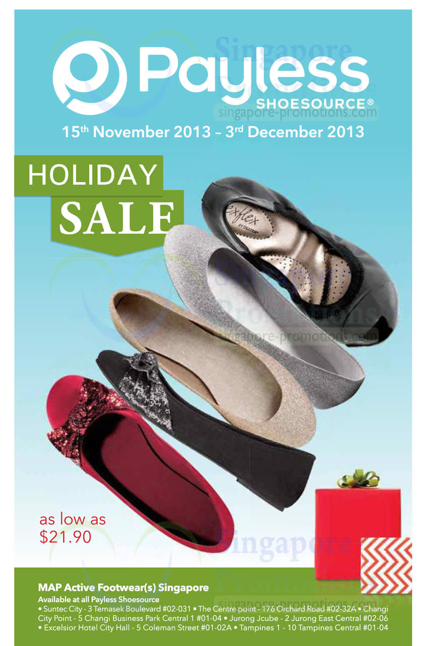 Payless Shoesource 15 Nov 2013