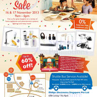 Read more about Philips Carnival SALE 2013 Up To 60% OFF @ Toa Payoh 16 - 17 Nov 2013