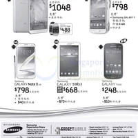 Read more about Samsung Galaxy Smartphones No Contract Price List 3 Nov 2013