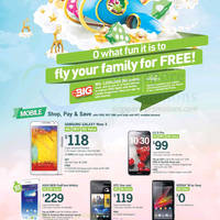 Read more about Starhub Smartphones, Tablets, Cable TV & Mobile/Home Broadband Offers 16 - 22 Nov 2013