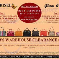 Read more about Surprisel Branded Handbags Sale Up To 75% Off 9 - 10 Nov 2013