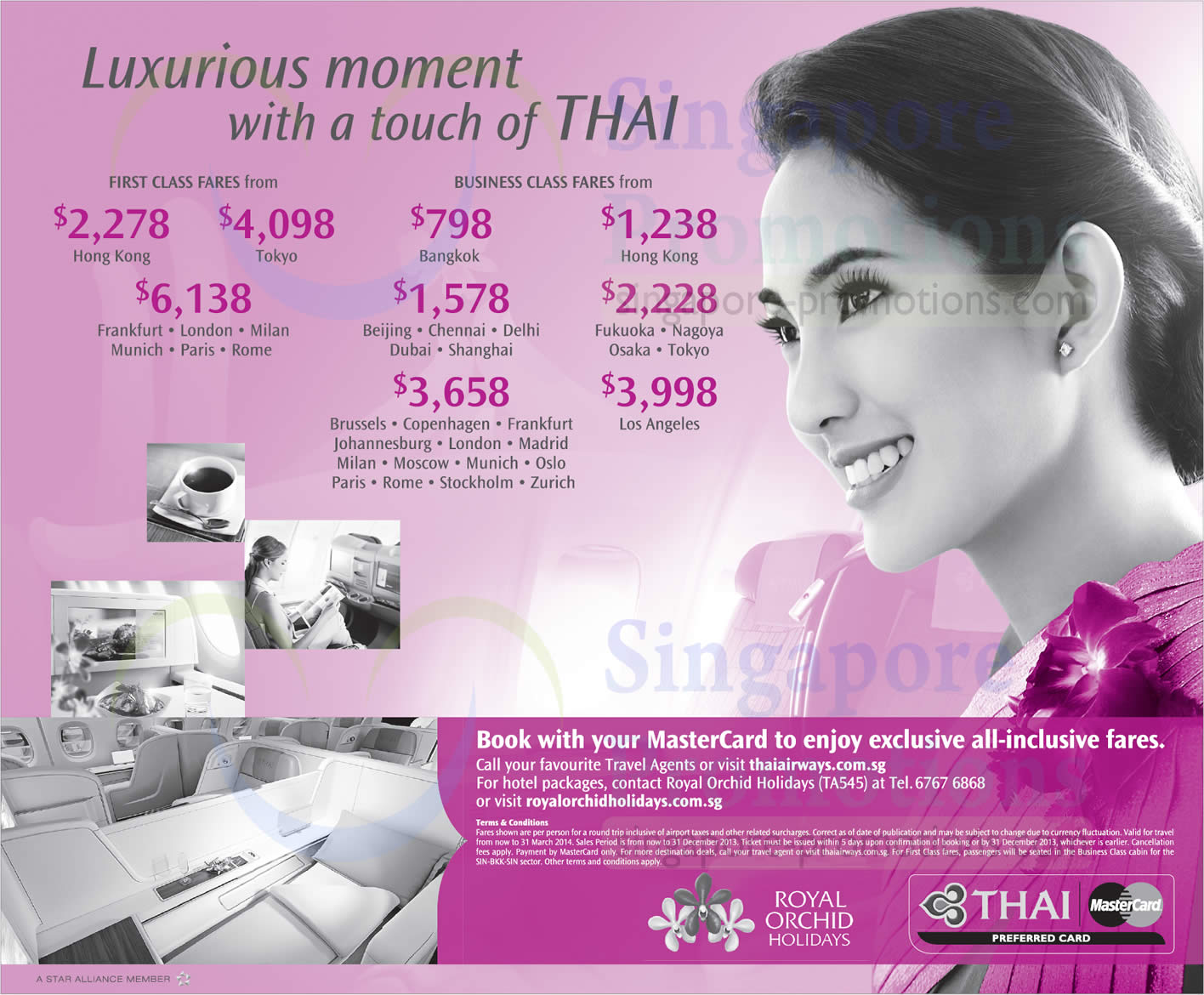 Thai Airways 1 Nov 2013