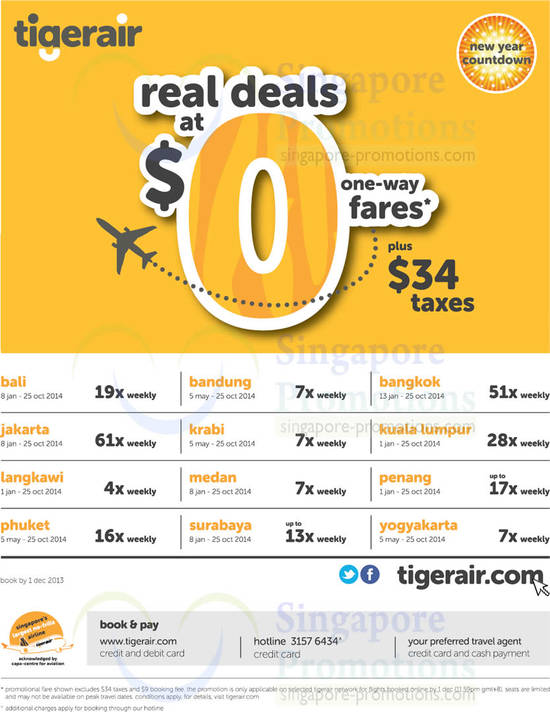 TigerAir 27 Nov 2013