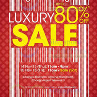 Read more about Valiram Up To 80% OFF Luxury SALE @ Changi Airport 14 - 15 Nov 2013