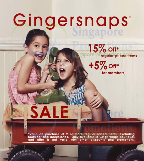 10 Feb Gingersnaps Promo Continues