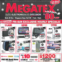 Read more about Megatex 2013 (14 Dec) Electronics & IT Expo Show @ Singapore Expo 14 - 25 Dec 2013