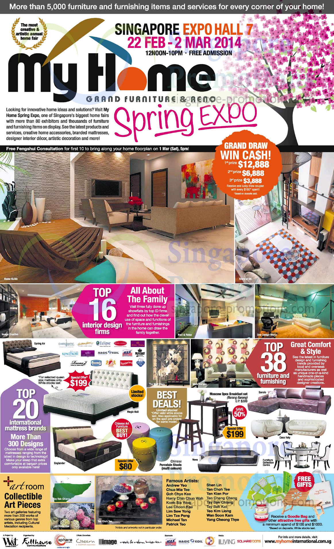 23 Feb Lucky Draw Interior Design Mattress Brands