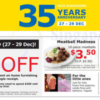 Read more about IKEA 35 Years Anniversary 3 Day Offers 27 - 29 Dec 2013
