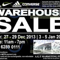 Read more about Branded Warehouse SALE (Fri - Sun) 27 Dec 2013 - 5 Jan 2014