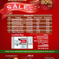 Read more about AC Ryan Up To 80% OFF Warehouse SALE @ Eunos Techpark 19 - 22 Dec 2013