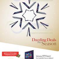 Read more about Samsung AIO Desktop PCs, Notebooks & Tablets Promotion Offers 3 - 31 Dec 2013
