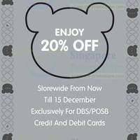 Read more about Agnes B 20% OFF Storewide Promo 13 - 15 Dec 2013