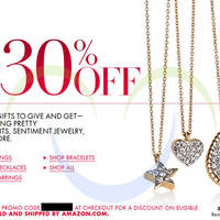 Read more about Amazon.com 30% OFF Jewellery Items Coupon Code 13 - 15 Dec 2013