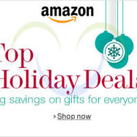 Read more about Amazon Holiday Deals Promotion Highlights & Offers 17 - 23 Dec 2013