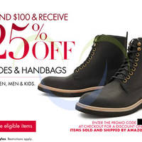Read more about Amazon.com 25% OFF Shoes & Handbags Coupon Code 9 - 16 Dec 2013