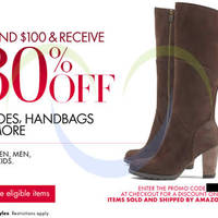Read more about Amazon.com 30% OFF Shoes, Handbags & More Coupon Code 2 - 8 Dec 2013