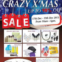 Read more about Amega Up To 90% OFF Branded Xmas SALE @ 32 Hongkong Street 17 - 19 Dec 2013