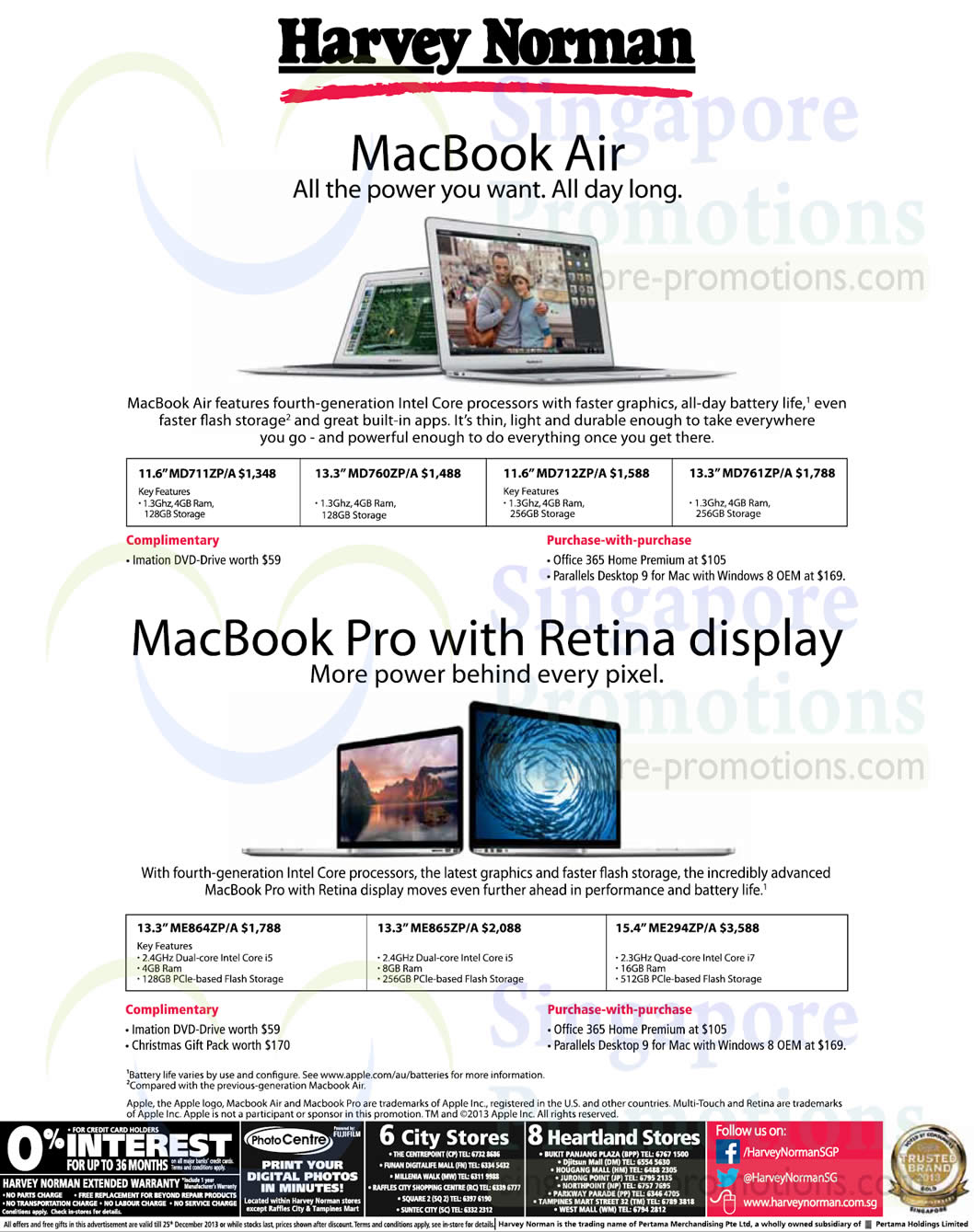 Apple Macbook Air, Pro