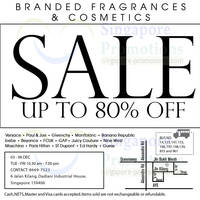 Read more about Branded Fragrances & Cosmetics Up To 80% OFF SALE 3 - 6 Dec 2013