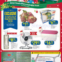 Read more about NTUC Fairprice Electronics, Appliances, Groceries & Personal Care Offers 12 - 25 Dec 2013
