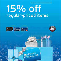 Read more about Choco Express 15% OFF Storewide For Citibank Cardmembers 16 - 31 Dec 2013