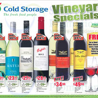 Read more about Cold Storage Wines 3 Day Offers 20 - 22 Dec 2013