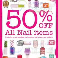 Read more about Etude House 50% OFF Nail Items Promo 4 Dec 2013 - 31 Jan 2014