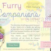 Read more about Far East Flora 15% OFF Plush & Flowers Promo 4 - 31 Dec 2013