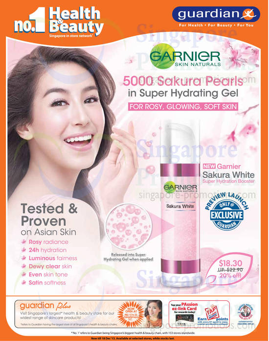 Garnier Sakura White Hydration Booster