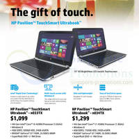 Read more about HP Pavilion TouchSmart Ultrabook Notebooks Price List Offers 11 Dec 2013